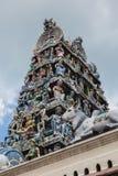 mariamman ναός sri Σινγκαπούρης Στοκ Εικόνα