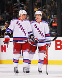 Marian Gaborik and Derek Stepan, New York Rangers Royalty Free Stock Image