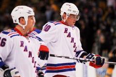 Marian Gaborik New York Rangers Fotografia de Stock Royalty Free
