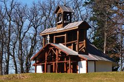 Marian mount chapel. Old Chapel at Marian Mount in Levoca, Slovakia stock images
