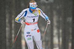 Marian Nordstroem - Cross Country-Skifahren Lizenzfreie Stockfotografie