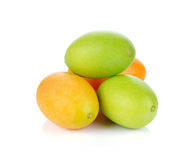 Marian plum or Maprang fruits of Thailand Royalty Free Stock Photo