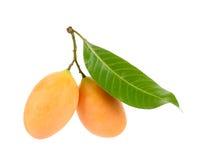 Marian plum thai fruit isolated on white Royalty Free Stock Photography