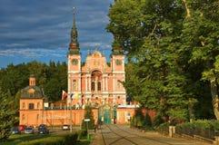 Marian Sanctuary en Swieta Lipka Fotografía de archivo libre de regalías