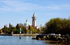 Marian Shrine on the island of Barbana - Grado. Marian Shrine on the island of Barbana, Grado - Italy royalty free stock image