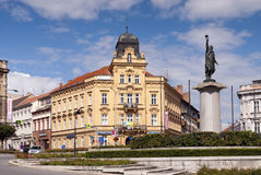 Marian square, Znojmo, Czech Republic Royalty Free Stock Images