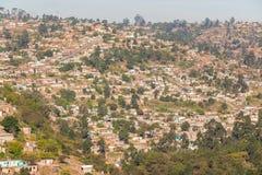 MarianHill alloggia le valli delle colline delle case Immagini Stock