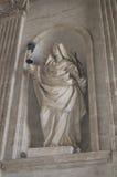 Marianische Skulptur im Vatican Stockfotos