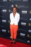 Marianne Jean-Baptiste,. LOS ANGELES - SEP 17:  Marianne Jean-Baptiste arrives at the 9th Annual BAFTA Los Angeles TV Tea Party  at L'Ermitage Beverly Hills Royalty Free Stock Photography