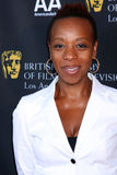 Marianne Jean-Baptiste,. LOS ANGELES - SEP 17:  Marianne Jean-Baptiste arrives at the 9th Annual BAFTA Los Angeles TV Tea Party  at L'Ermitage Beverly Hills Royalty Free Stock Photos