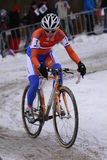 Marianne Vos. The winner of cyclo-cross world championship 2010 in Tabor, Czech Republic. The event took place on 31.1.2010 Stock Photos