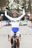 Marianne Vos winning Stock Images