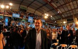 MAriano Rajoy Arkivfoton