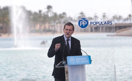Mariano Rajoy 047 Imagem de Stock