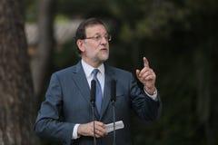 MAriano Rajoy gesturing Stock Photography
