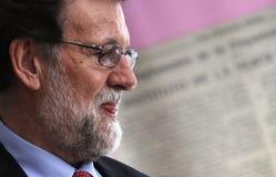 Mariano Rajoy Prime Minister de España imagen de archivo libre de regalías