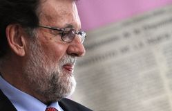 Mariano Rajoy Prime Minister von Spanien lizenzfreies stockbild