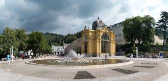 Marianske lazne - zdrowie kurort w republika czech Fotografia Royalty Free