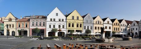 Marianske square - Žilina Royalty Free Stock Photo