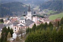 Mariazell basilica - Austria Stock Photography