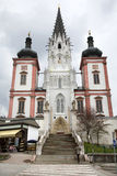 Mariazell basilica - Austria Royalty Free Stock Images