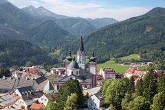 Mariazell - Basilica of the Birth of the Virgin Mary - holy shrine from Austria Stock Photography