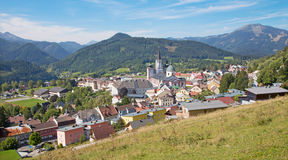Mariazell - Basilica of the Birth of the Virgin Mary Royalty Free Stock Photo