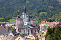 Mariazell - Basilica of the Birth of the Virgin Mary Royalty Free Stock Photography