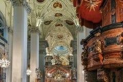 Mariazell-Basilika, Österreich stockfotografie