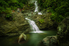 Maribina Falls, Philippines Royalty Free Stock Images