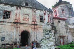 Maribojoc-Kirche Stockfoto