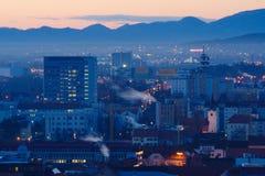 Maribor - взгляд города стоковое фото