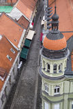 Maribor from above Royalty Free Stock Images