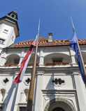 Maribor castle, Slovenia. stock photos