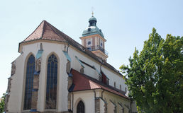 Maribor Cathedral Stock Photography