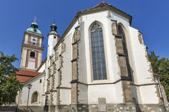Maribor Cathedral in Slovenia royalty free stock photo
