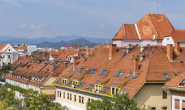 Maribor cityscape in Slovenia. stock photos