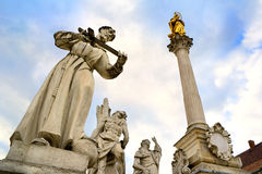 Maribor - colonne de peste photos libres de droits