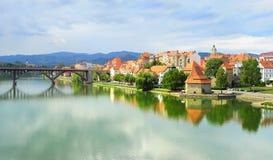 Maribor, Eslovenia Imagen de archivo libre de regalías