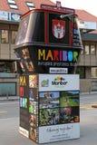 Maribor - Europas kulturell capital i 2012 Arkivbild