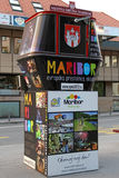 Maribor - Europe's cultural capital in 2012 stock photography