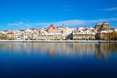 Maribor im Winter stockfoto