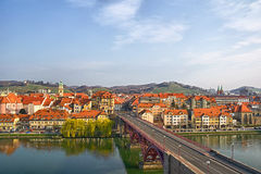 Maribor - Main bridge and Lent Royalty Free Stock Photography