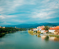 Maribor Old Town View. Slovenia, Europe. Stock Photography
