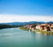 Maribor Old Town View. Slovenia, Europe. Stock Photos