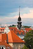 Maribor, Slovenia, roofscape Royalty Free Stock Photography