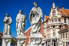 Maribor Slovenien Arkivbild