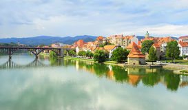 Maribor, Slowenien Lizenzfreies Stockbild