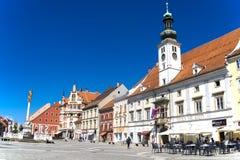 Maribor, Slowenien stockbild