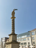 Maribor St. Florian column, Slovenia royalty free stock photos